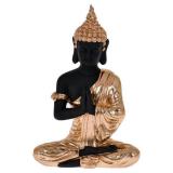 Gilbert Sittande Buddha Prydnad Svart/Guld