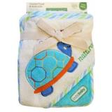 Sköldpadda Badcape och Tvättlapp Eko Set