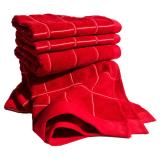 Smögen Frottéset Röd