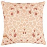 Soft Leopard Kuddfodral Rosa