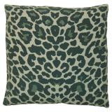 Soft Leopard Kuddfodral Turkos