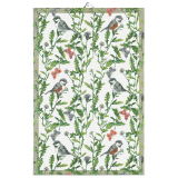 Sommarfåglar Kökshandduk Grön