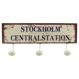 Stockholm Centralstation Hängare Vit