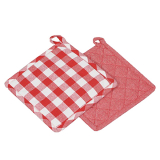 Sture Grytlapp Röd 2-pack