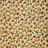 Boel & Jan Sunflower Metervara Gul