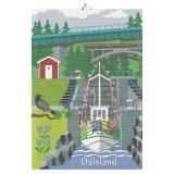 Svenska Landskap Kökshandduk Dalsland