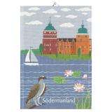Svenska Landskap Kökshandduk Södermanland