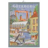 Svenska Städer Kökshandduk Göteborg