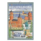 Svenska Städer Kökshandduk Helsingborg