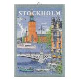 Svenska Städer Kökshandduk Stockholm