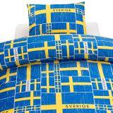 Sverige Flagga Påslakan Blå