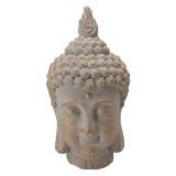 Interiörhuset Tam Buddha Huvud Prydnad Guld