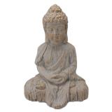 Tam Sittande Buddha Prydnad Guld