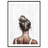 Topknot Poster