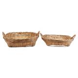 Meraki Tradition Korg Låg 2-set Bambu
