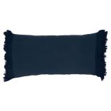 Tulum Kuddfodral Mörkblå 35x70