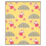 Umbrella Barnfilt Mumin Gul