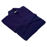 Våffelpiké Kimono Blå