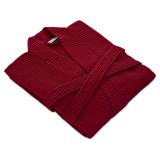 Våffelpiké Kimono Röd