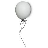 Väggdekoration Ballong Vit Liten