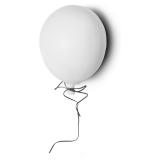 Väggdekoration Ballong Vit Stor
