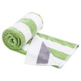Vändbar Handduk Grön/Grå