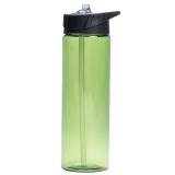 Vattenflaska Med Sugrör Grön