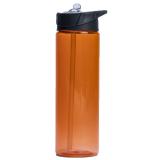 Vattenflaska Med Sugrör Orange