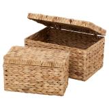 Vattenhyacinth Box med Lock 2-Set