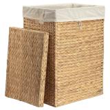Vattenhyacinth Tvättkorg Rektangel 2-Set