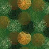 Vaxduk Cirklar Grön