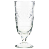 Vintage Ölglas Klar