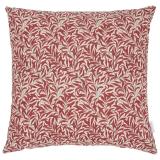 Willow Kuddfodral Röd/Beige 50x50 cm