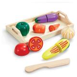 Woodlets Leksaksmat Grönsaker
