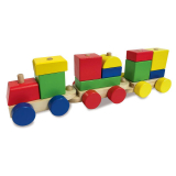 Woodlets Stapelleksak Tåg
