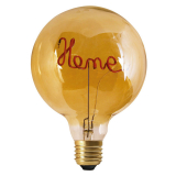 Words LED-Lampa Home