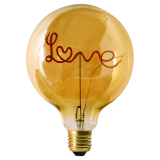 Words LED-Lampa Love