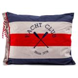 Yacht Club Kuddfodral Blå/Röd