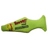 Yeowww Fisk Kattleksak Grön