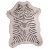 Zebra Matta Svart/Creme
