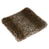 Zion Pläd Leopard Konstpäls