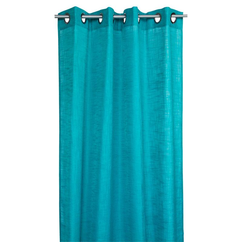 blå gardiner ellos